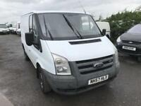 FORD TRANSIT 280 SWB LR, White, Manual, Diesel, 2008 58 133000 MILES