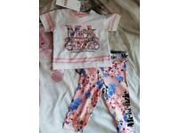 Girls 0-3m McKenzie outfit bnwt