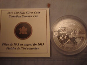 2013 Canadian 10 Dollar Silver Coin