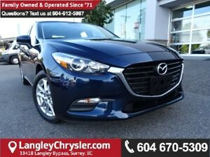 2017 Mazda Mazda3 GS *ACCIDENT FREE*ONE OWNER*LOCAL BC CAR*