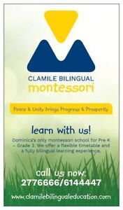 Volunteer Wanted for Clamile Bilingual Montessori