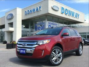 2014 Ford Edge SEL LEATHER NAVIGATION PANORAMIC SUNROOF 