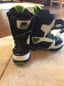 SIMS snowboard boots like new
