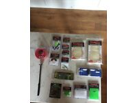 Fishing assortment of fishing end tackle