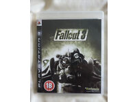 PLAYSTATION 3 GAME 'FALLOUT 3'