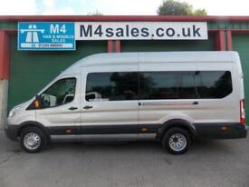 Ford Transit 125ps 17 Seat Trend PSV Tested Full A/C