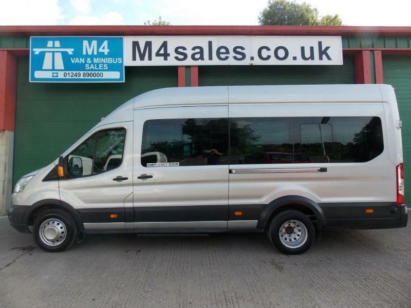 Ford Transit 125ps, 17 seat Trend minibus,Full A/con