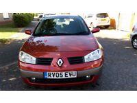 2005 Renault Megane 1.4 16v Dynamique 5dr @07445775115@