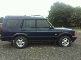 Landrover discoverey td5s automatic