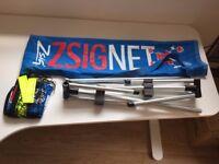 ZSIG mini tennis net (1.8m)