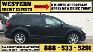 2012 Dodge Journey RT AWD ~ V6 Engine ~ Heated Leather $160 B/W