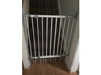 Pair of metal stair gates for sale, great condition.