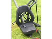 Yep Junior Bike Seat - age 5 upwards (up to 35kg) + Frame and fixings