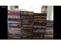 97 DVD's and 17 CD's