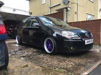 Borbet bs 16x9 5x100 candy purple wheels