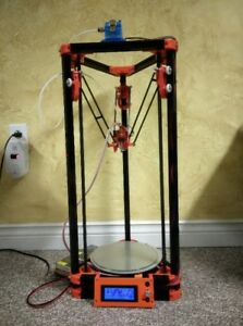 Delta 3D Printer Kossel Auto Level Heated Bed Injection Molded