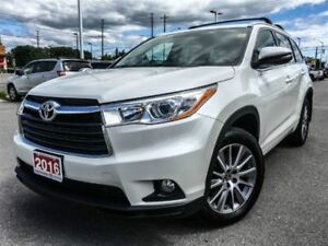 2016 Toyota Highlander XLE-LOW KMS!
