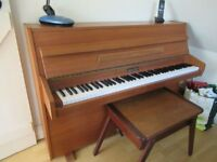Zender upright mini piano for sale