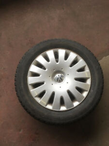 VW WINTER SNOW TIRE PACKAGE