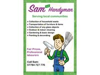 Handyman / Gardening / Collection of household waste