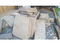 York stone various sizes. Free for collection