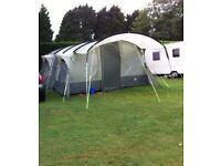 Royal Bordeaux 6 man tent & accessories