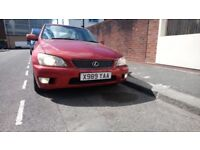 Lexus IS200 immaculate condition, everything works perfect.