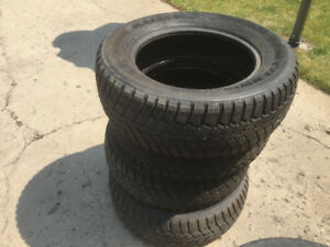 Sold.....4 kumho winter tires for sale-kumho i'zenwis 225/60/16