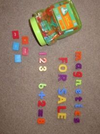 ELC Educational Magnetic Letters, Numbers and Sentence Tiles (Numeracy and Literacy)