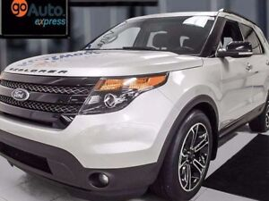 2014 Ford Explorer Sport 4WD Ecoboost! loaded up with leather, N