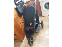 Phil and Teds tandem/double pushchair