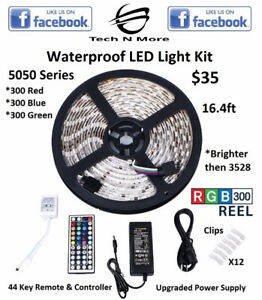 Waterproof LED Light Kits (Multicolored)(New Series)