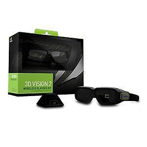 NVIDIA - Ensemble lunettes 3D Vision 2 GeForce avec contrôleur U