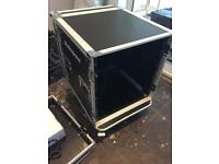 "Heavy Duty 19"" Flight Case in Casters"