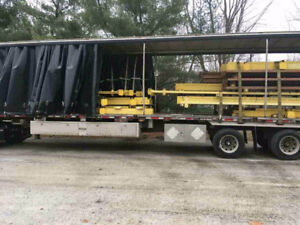 2008 Western Elite 53' Highboy Curtain Trailer