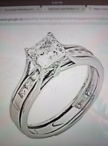 LOST: Engagement Ring & Wedding Band