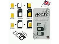 Wholesale of 100x 4pack Noosy sim adapters