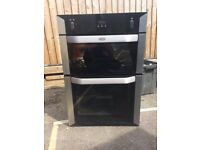 BELLING BI90G Gas Double Oven - Stainless Steel-bargin