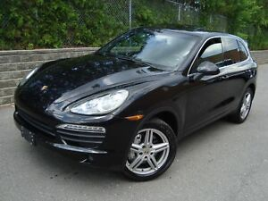 2011 Porsche cayenne s s navigation package