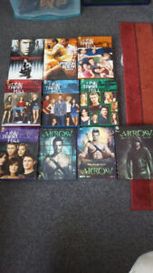 Selected tv series on DVDs