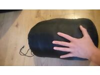 Wide fit sleeping bag