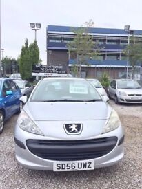 2006 PEUGEOT 207s 1.4 PETROL HATCHBACK *PX WELCOME* MOT TILL MARCH 2018