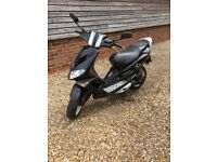 50cc moped new MOT