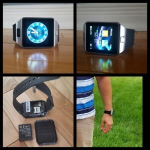 2017 Smart Watch with SIM Card Slot for iphone Android