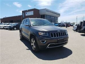 2016 Jeep Grand Cherokee Limited 8.4 Inch Screen, Sunroof, Leath