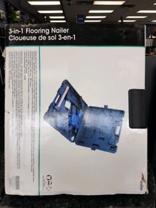 3-in-1 flooring air nailer brand new in box