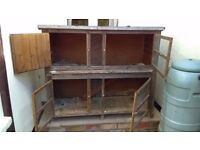 Two Storey Outdoor Hutch for Guinea Pigs or Rabbits