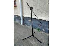 Microphone boom stand - garage find