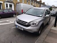 Honda CR-V, 2010, Silver, Sat Nav, Automatic, A/C, Large boot