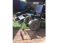 All terrain mobility wheel chair